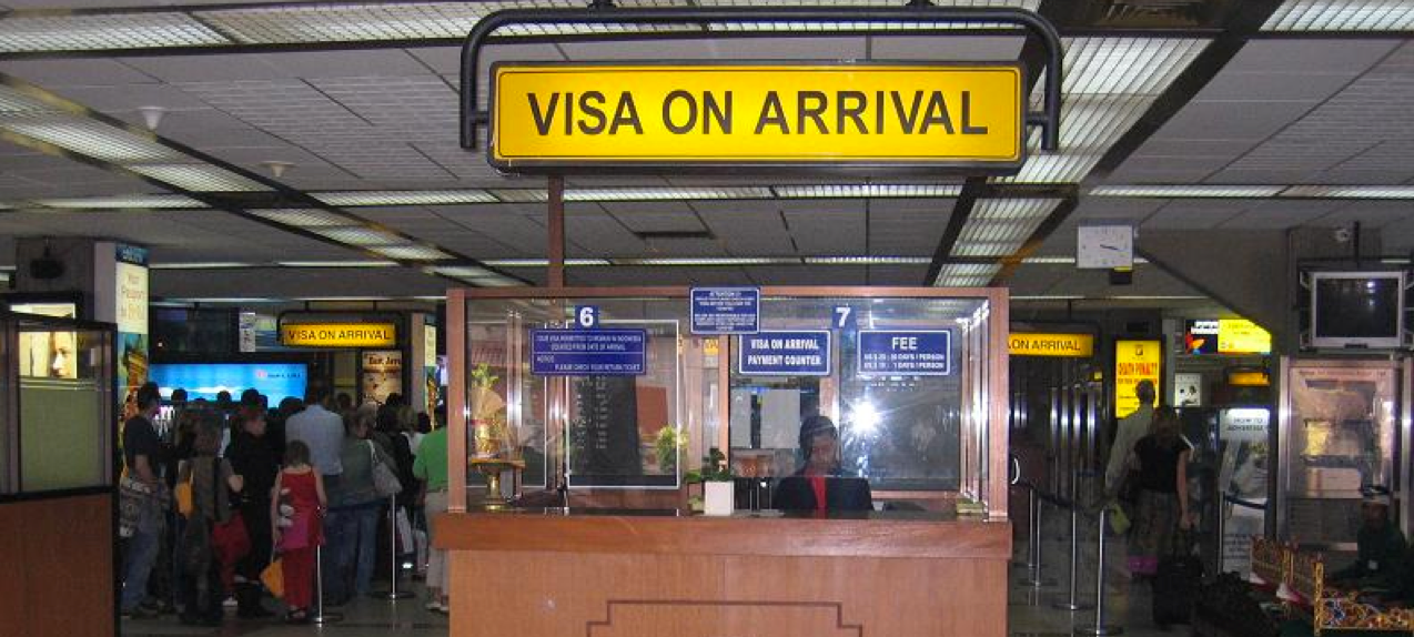 VISA on arrival in India